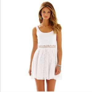 Lilly Pulitzer White Lace Dress